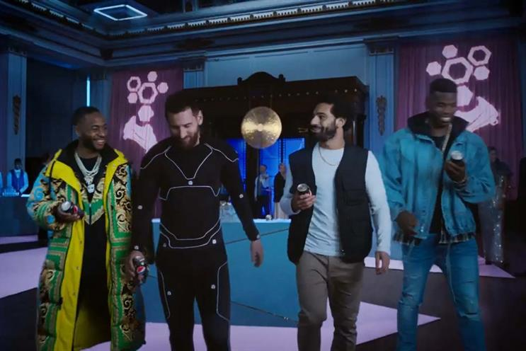 Pepsi Max: Sterling, Messi, Salah and Pogba