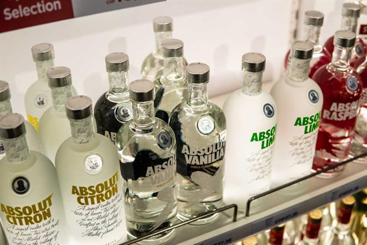 Pernod Ricard: owns brands including Absolut