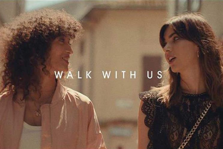 Trouble Maker: created updated version of 'Walk with us' ad for Peroni