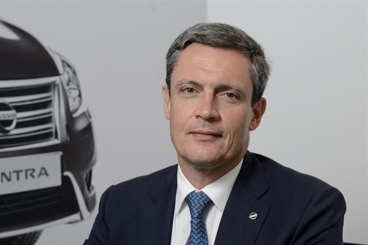 Philippe Saillard, senior vice president of sales and marketing, Nissan Europe