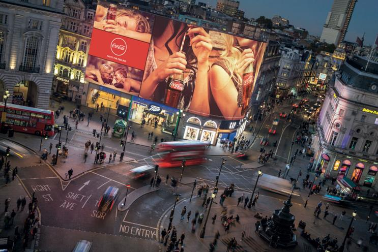 Revamped Piccadilly lights prepare to illuminate the West End