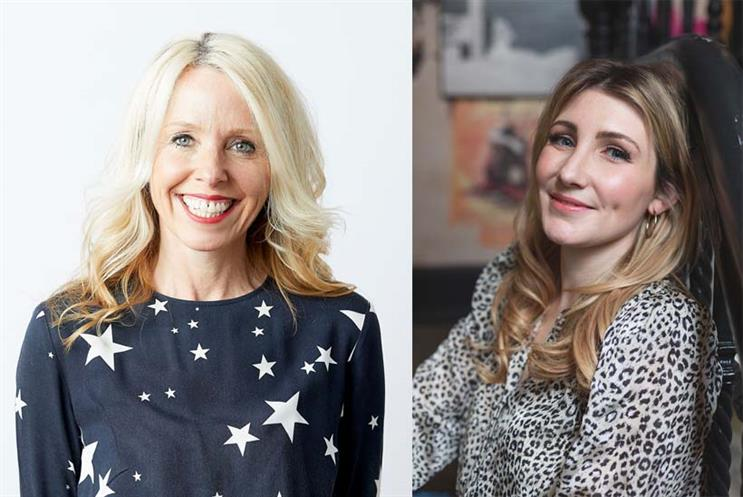 From left: Pip Hulbert, CEO, Wunderman Thompson; Victoria Constable, senior consultant, Stopgap