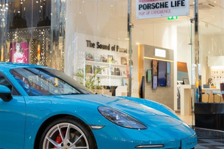 Porsche Life pop-up: debuts in Leeds