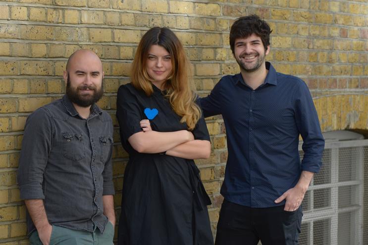 Publicis London's new creatives (L-R): Porto, Bold, Bustani