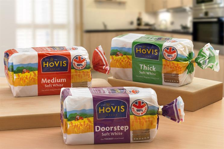 Hovis: Carat will handle media and buying across the whole Premier Foods portfolio