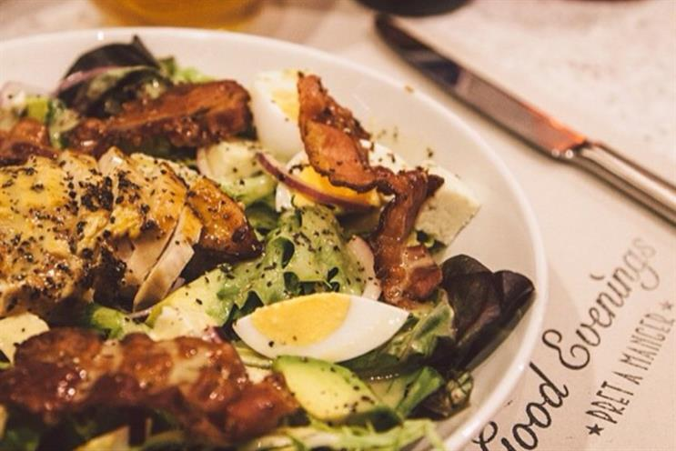 Good Evenings: the new menu and concept is being trialled at Pret's Strand restaurant