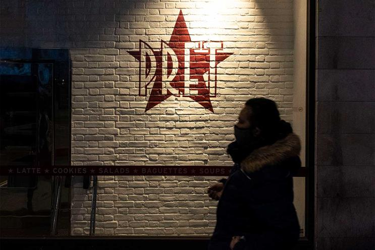 Pret: trialling click-and-collect offering at some stores