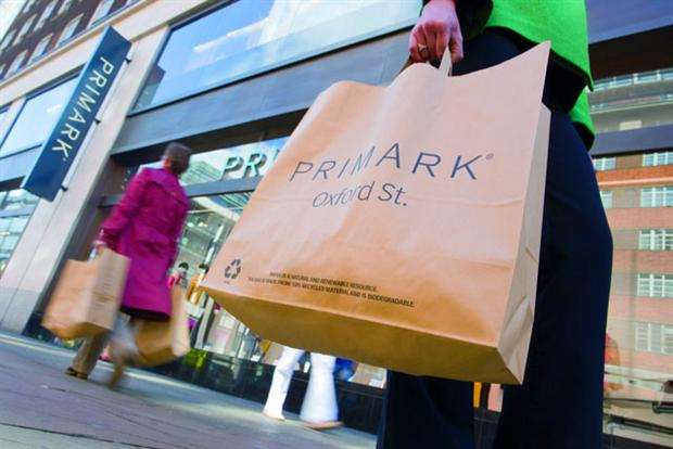 Primark: set to deliver a 17% annual sales boost