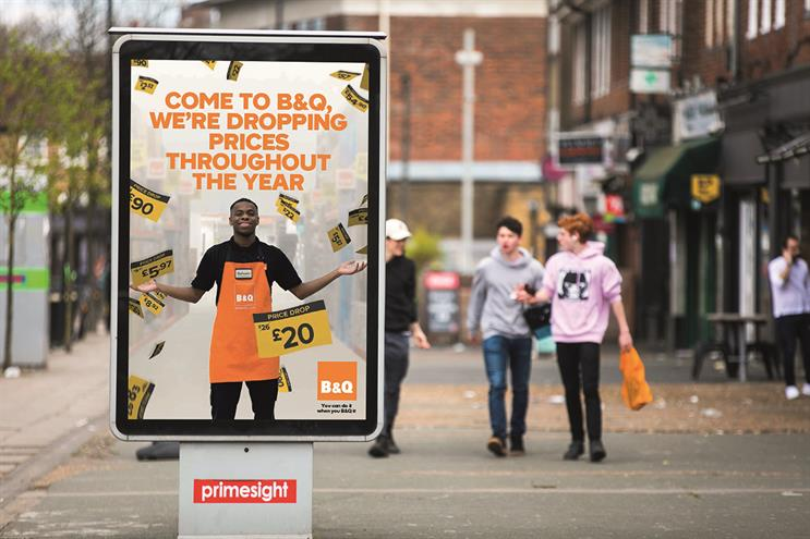 B&Q's latest seasonal campaign using small format OOH is resonating with the public