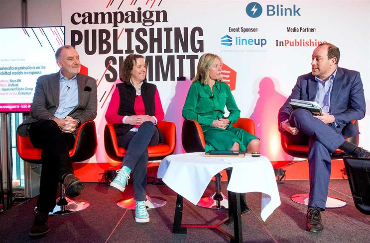 Publishing Summit: Costello, Willis, Nolan and Spanier