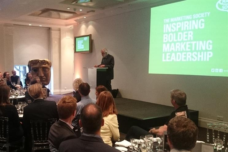 Lord Puttnam discusses trust and youth voting at the Marketing Society Annual Lecture