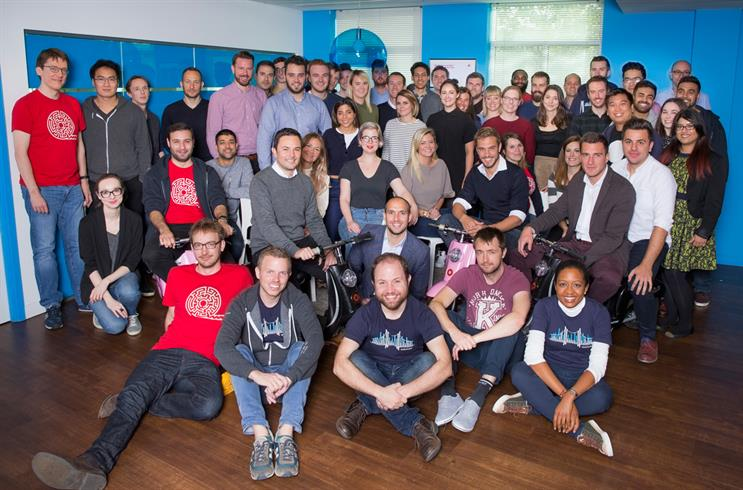 UK MD Ben Murphy and the Quantcast team