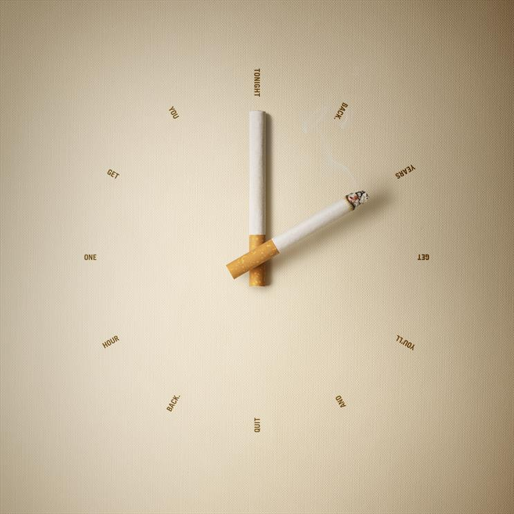 Daylight saving: campaign highlights the time smokers could gain by giving up