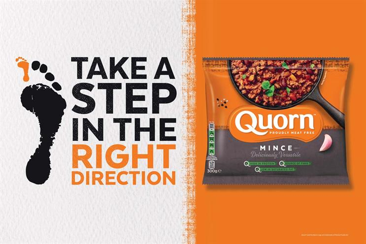 Quorn: advertising focused on making positive choice for environment