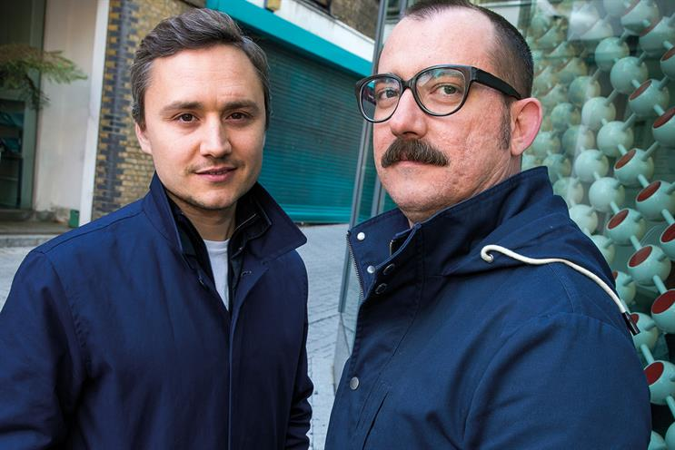 Uvarov (l) and Rufo will lead R/GA London's creative output