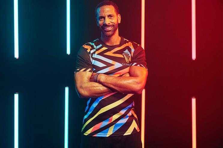 Ferdinand: will compère match and take part in activities