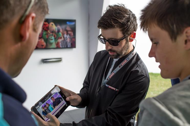 RPM has devised the Sky Sports F1 stand for this year's Goodwood Festival of Speed