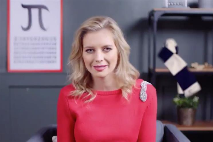 Rachel Riley 'confesses' to being bad at maths for HSBC