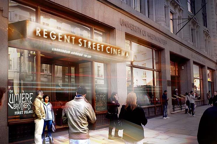Regent Street Cinema is one of five new London venue openings in 2015