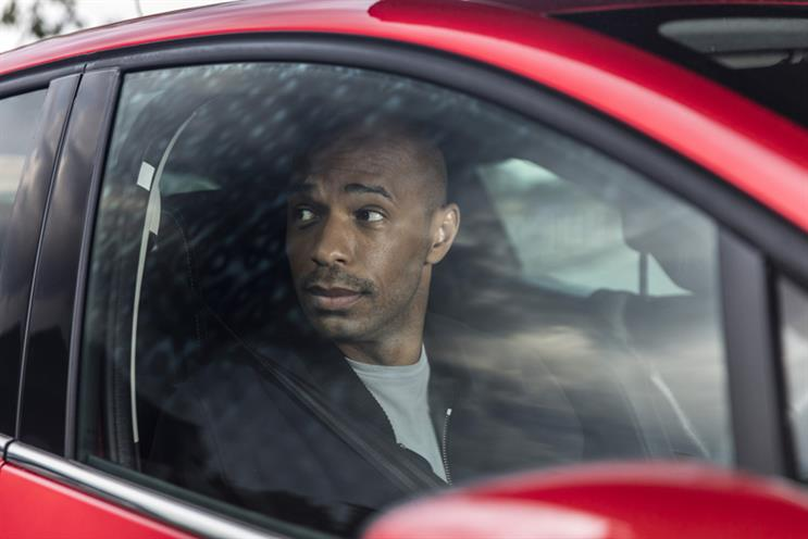 Renault: Thierry Henry is appearing in his first ads for the marque since 2011
