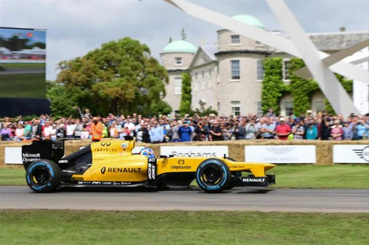 Festival Of Speed >> Renault To Activate At Goodwood Festival Of Speed