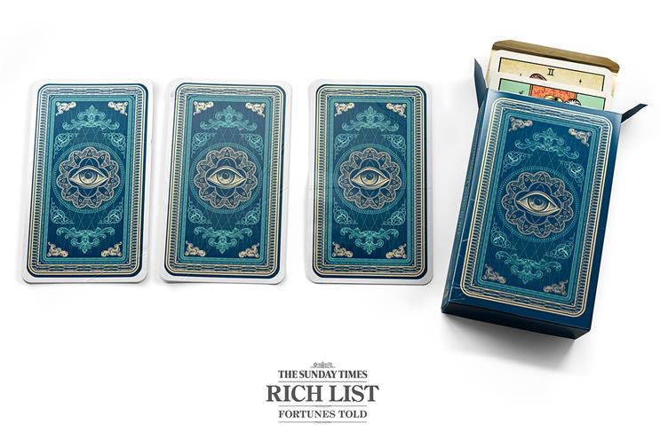 The Sunday Times Rich List campaign by CHI & Partners
