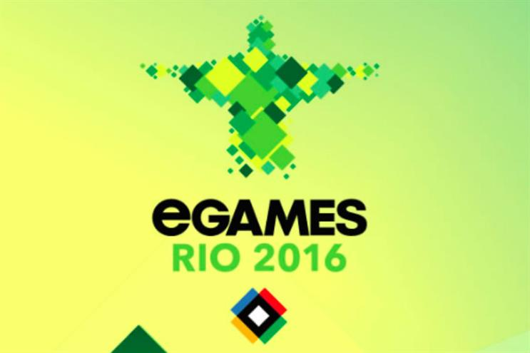 The eGames in Rio will act as a showcase designed to attract 'partners'