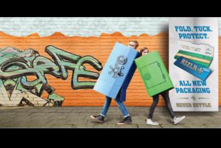 Ad watchdog bans Rizla poster for suggesting smoking is 'safe'