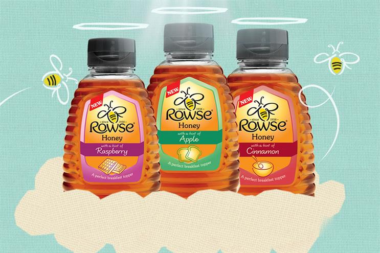 Rowse Honey: BMB was awarded the account without a pitch