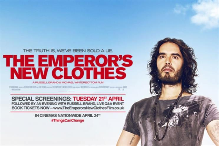 The Emperor's New Clothes: Russell Brand fronts Michael Winterbottom documentary