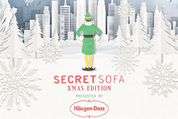 Secret Cinema: attendees will watch Elf