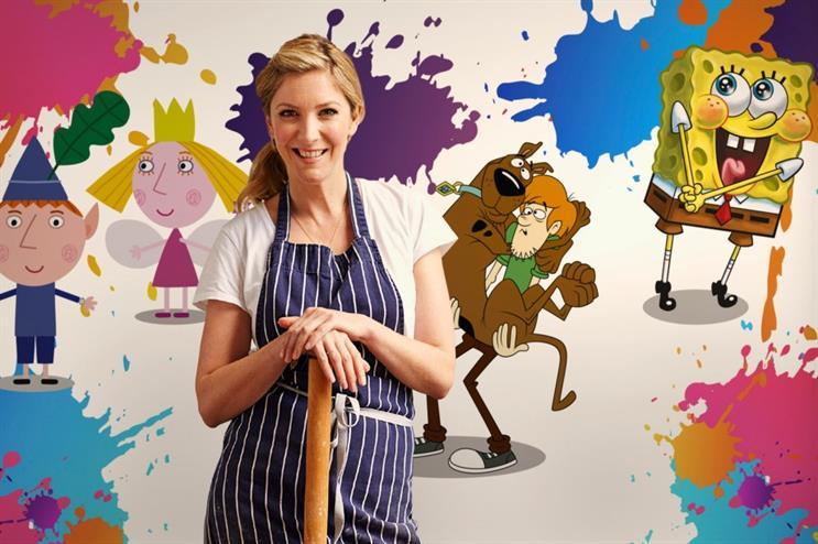 Lisa Faulkner: devising TV-themed menu for the Sky Kids Cafe