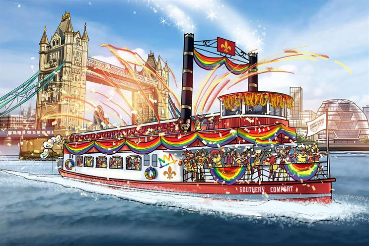 Southern Comfort: will party onboard a Mississippi paddle steamer boat