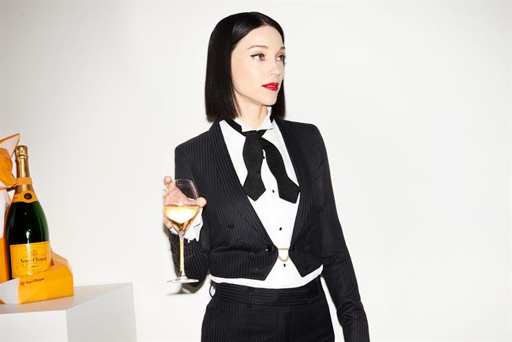 Veuve Clicquot: St Vincent curates experience (photo credit: David Titlow)