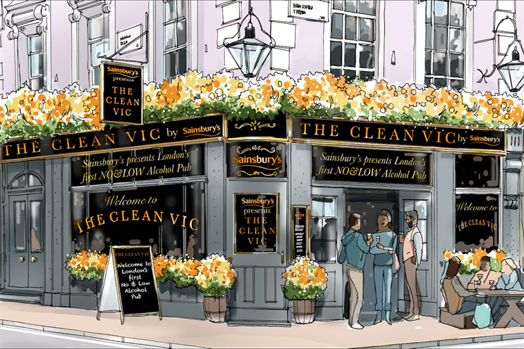 The Clean Vic: entrance includes snacks
