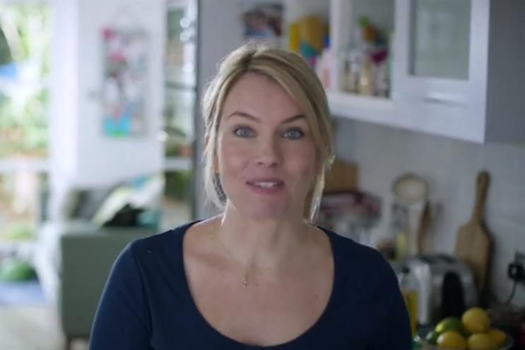Becky Wiggins: stars in Sainsbury's campaign