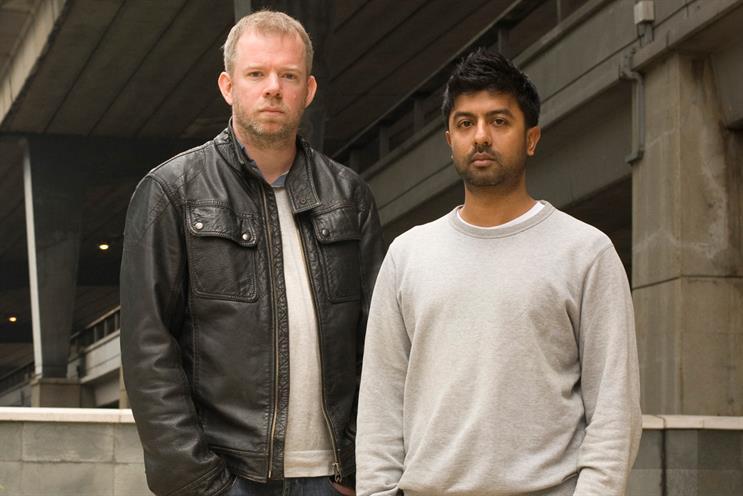 Oliver (l) and Patel: awards