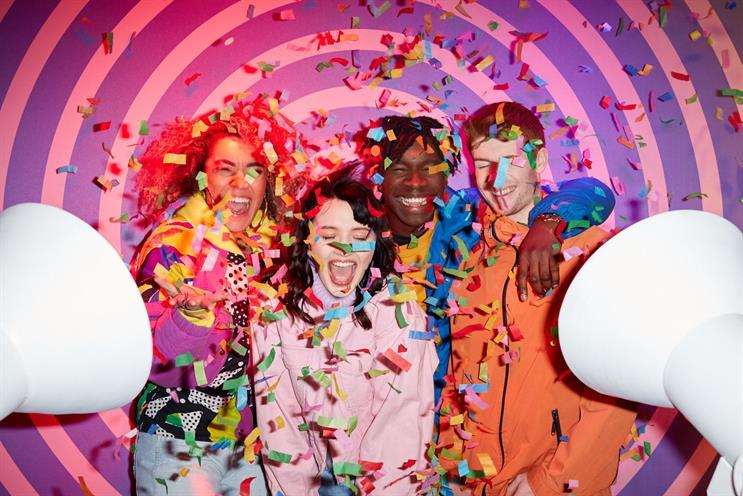 Samsung creates colourful interactive exhibition in Dublin