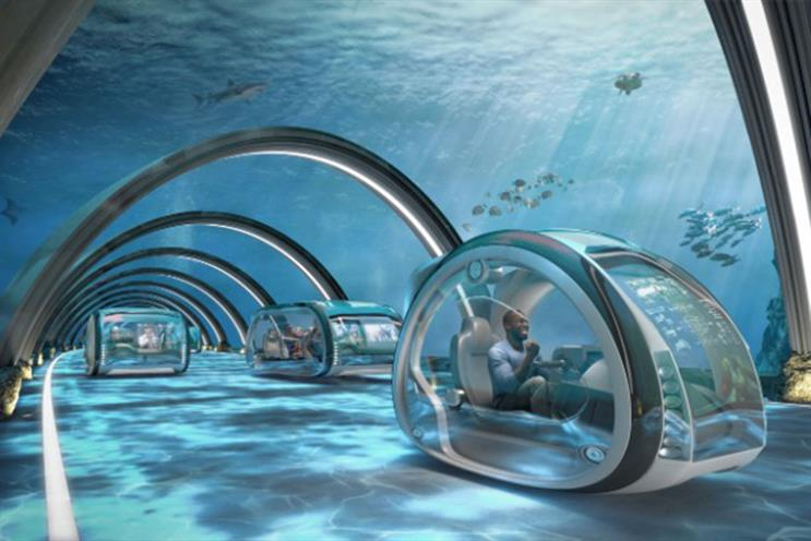 Samsung: aquatic superhighways are one prediction