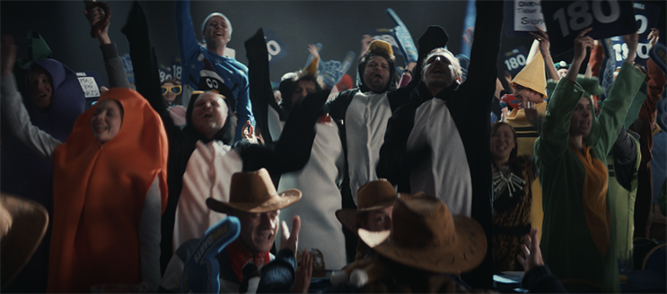 William Hill: ad celebrates real friends sharing the experience of enjoying sport together
