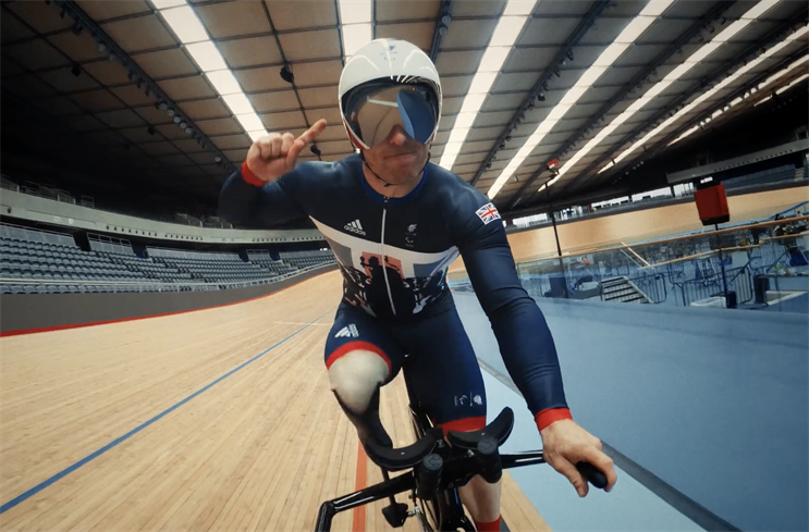 Paralympics: film will first air on Channel 4 just before 9pm on 16 July
