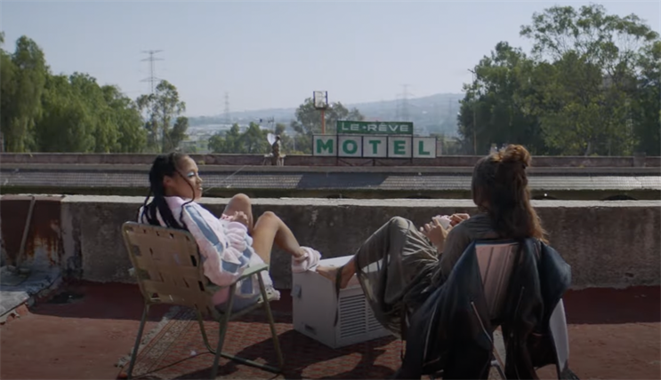 Fracture: set in the desolate Le Rêve Motel on the outskirts of LA