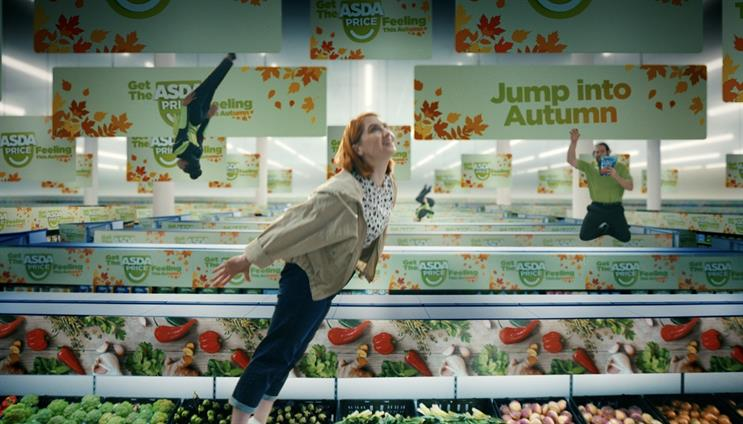 'Jump into autumn': new ad campaign by Havas for Asda