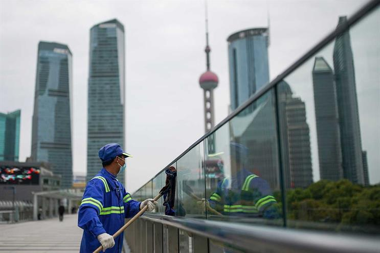 Shanghai: workers have started returning to offices (Getty Images)