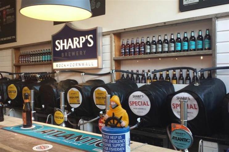 Sharp's Brewery also activated at London Beer Week in 2015