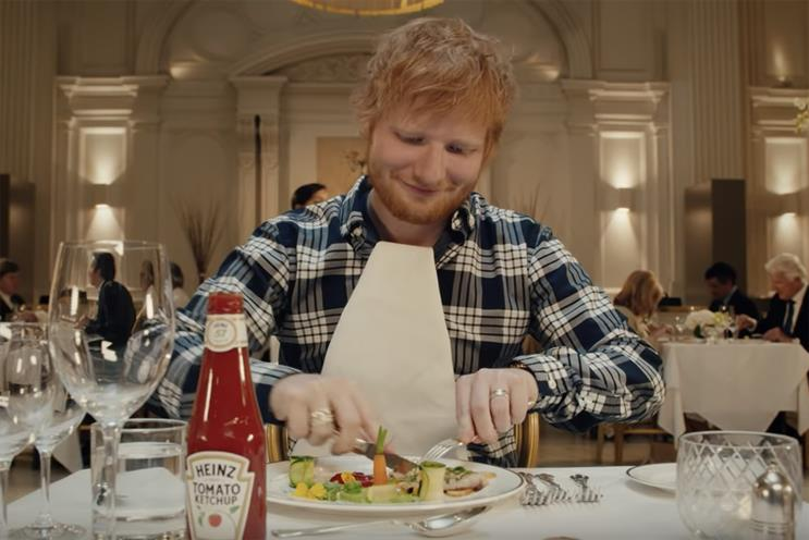 Adwatch: Heinz's use of Ed Sheeran misses the target
