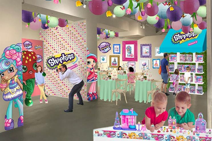 New York will host a Shopkins-inspired cafe