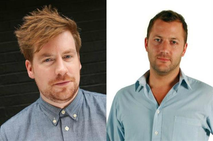 Alec Braun and Tom Rutter: quitting Slice to set up agency