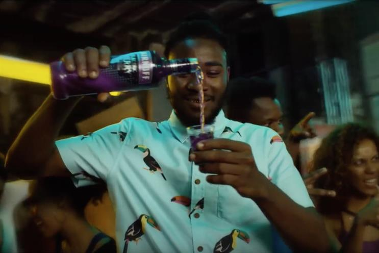 Smirnoff Electric: featured in music video for 'Give It To The Moment'