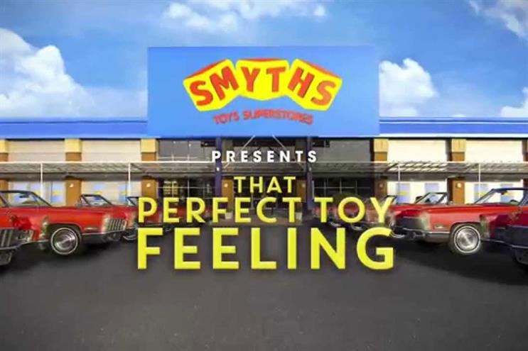 Smyths Toys Superstores: McCann UK handles creative
